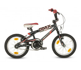 16 Loekie Bmx Boy Blackgrey