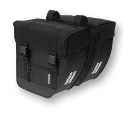 Basil Tour XL dubbele tas 40-liter zwart 17016