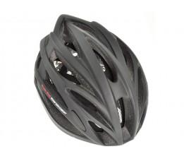 Helm Tesero mat zwart L / XL