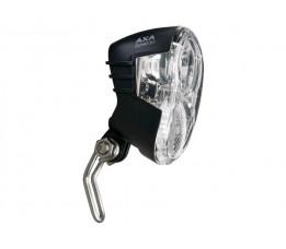 Axa koplamp Echo steady auto dynamo 30 lux zwart