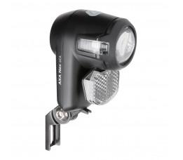 Axa koplamp Nox City auto off batterij 4 lux zwart