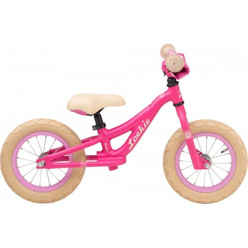 Loekie Loopfiets Prinses, Pink matte