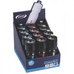 BWB-05D Bidons 750ml CompTank 18 Displaybox 750 Ml Mixed Kleuren