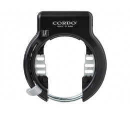 Cordo ringslot solid art2 zwart