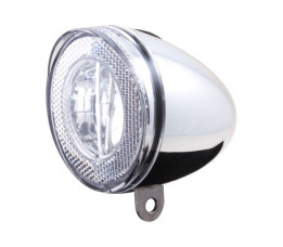 Cordo led koplamp swingo chroom incl. batterij