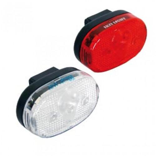 Verlichtingsset op batt Ikzi Light voor +achter dof